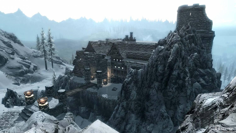 Скачать мод на skyrim на замок